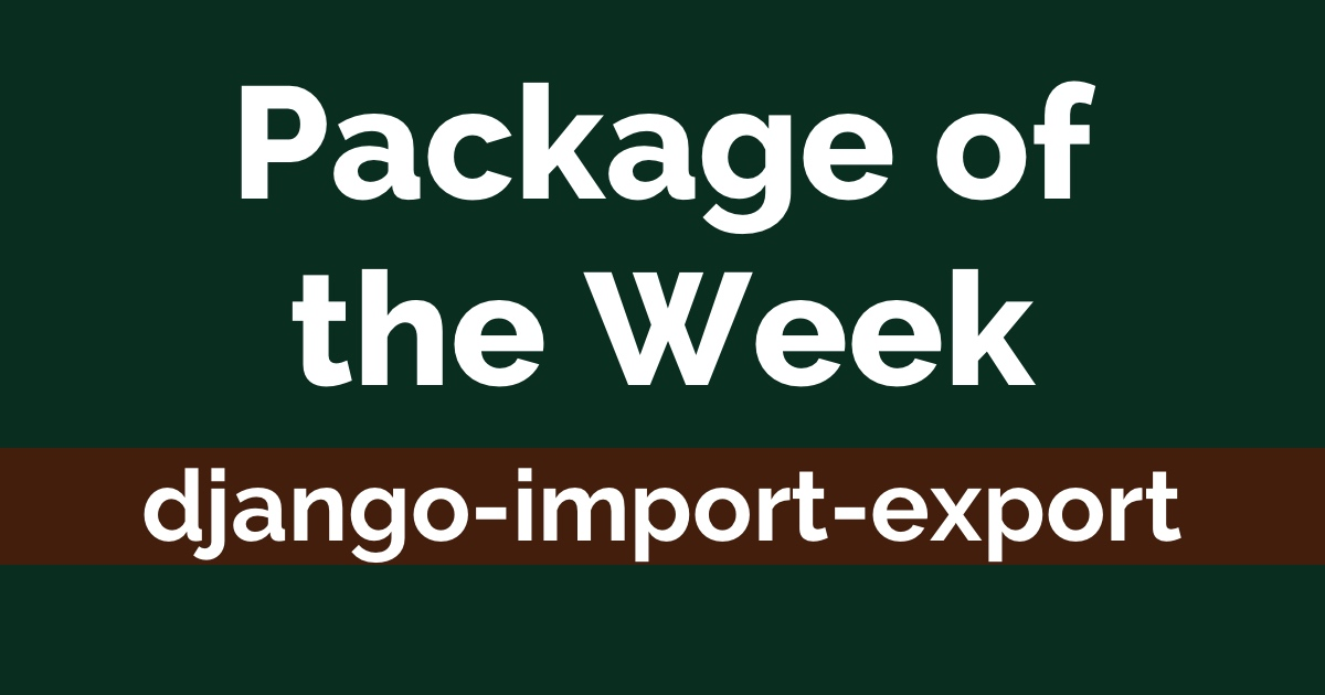 How to Use django-import-export