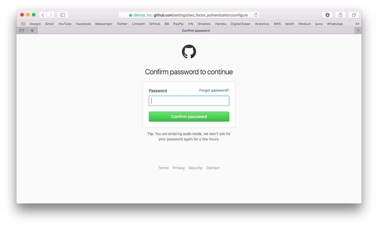 How to Create a Password Confirmation View