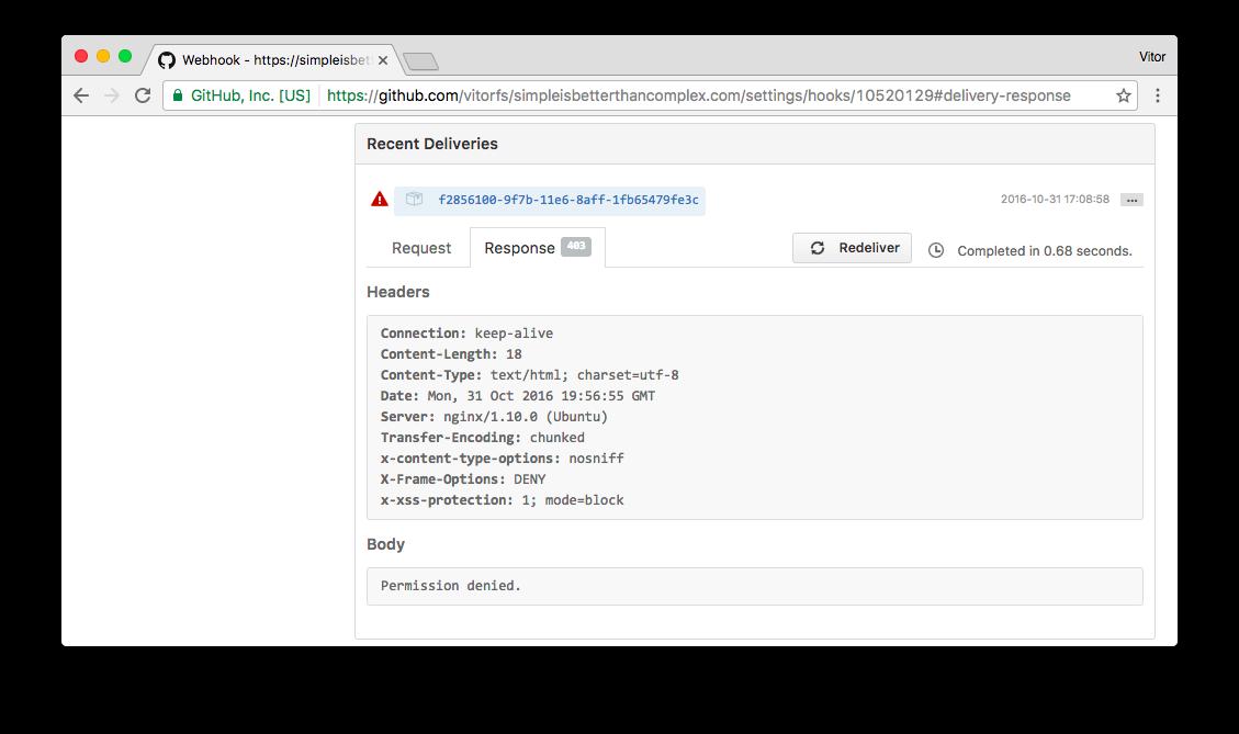 How To Handle Github Webhooks Using Django