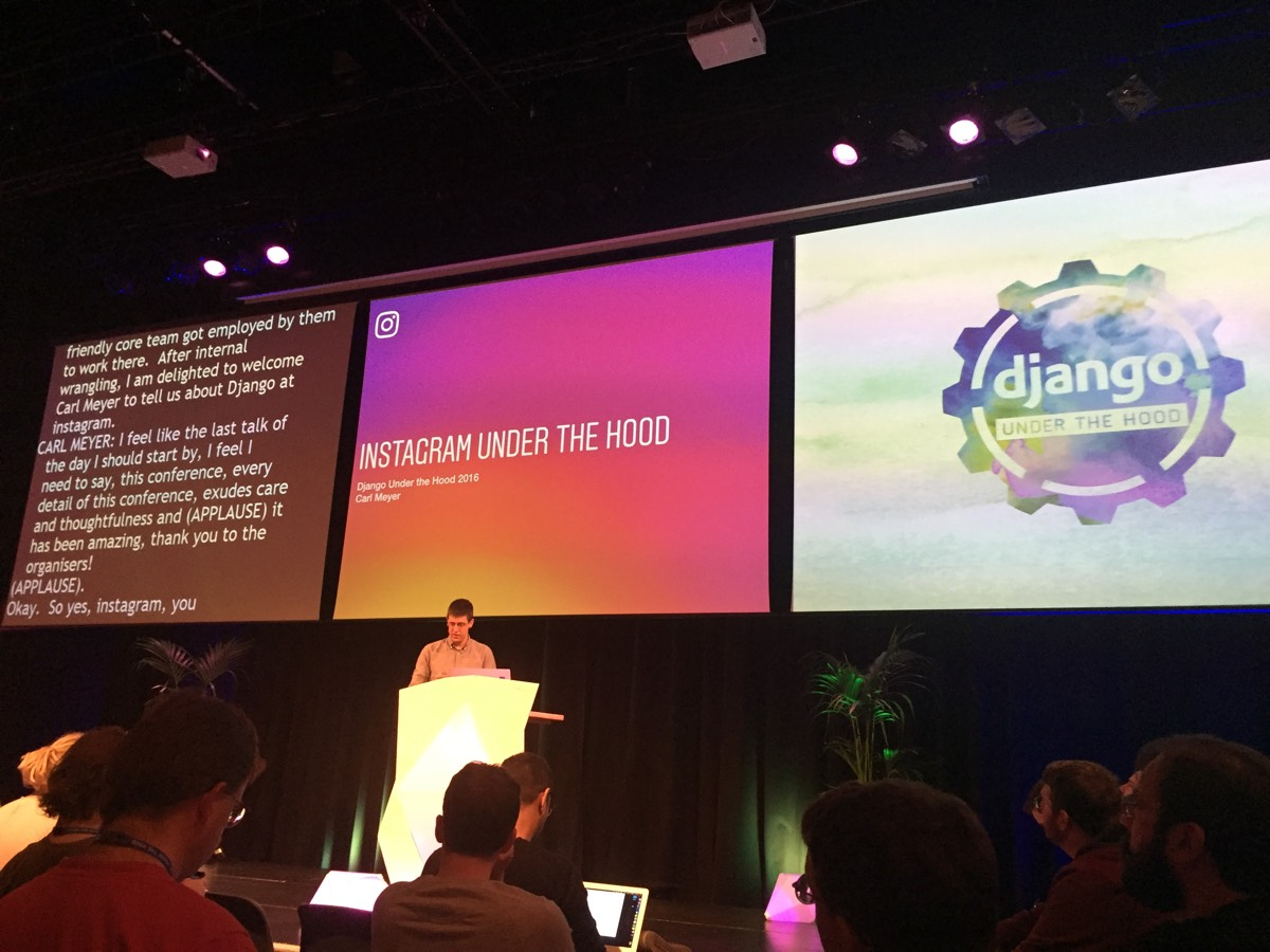 Django at Instagram By Carl Meyer