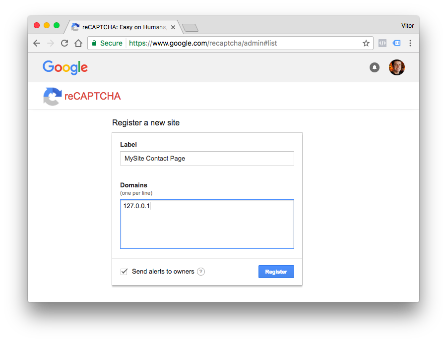 How to Add reCAPTCHA to a Django Site