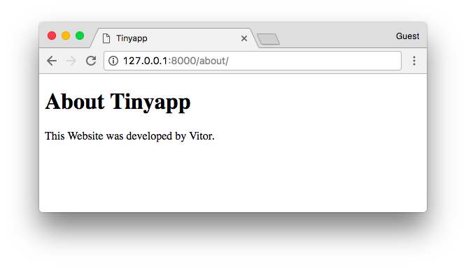 About Tinyapp