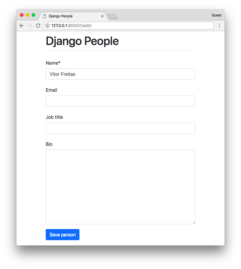How to Use Bootstrap 4 Forms With Django