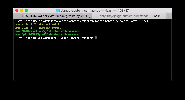 How to Create Custom Django Management Commands