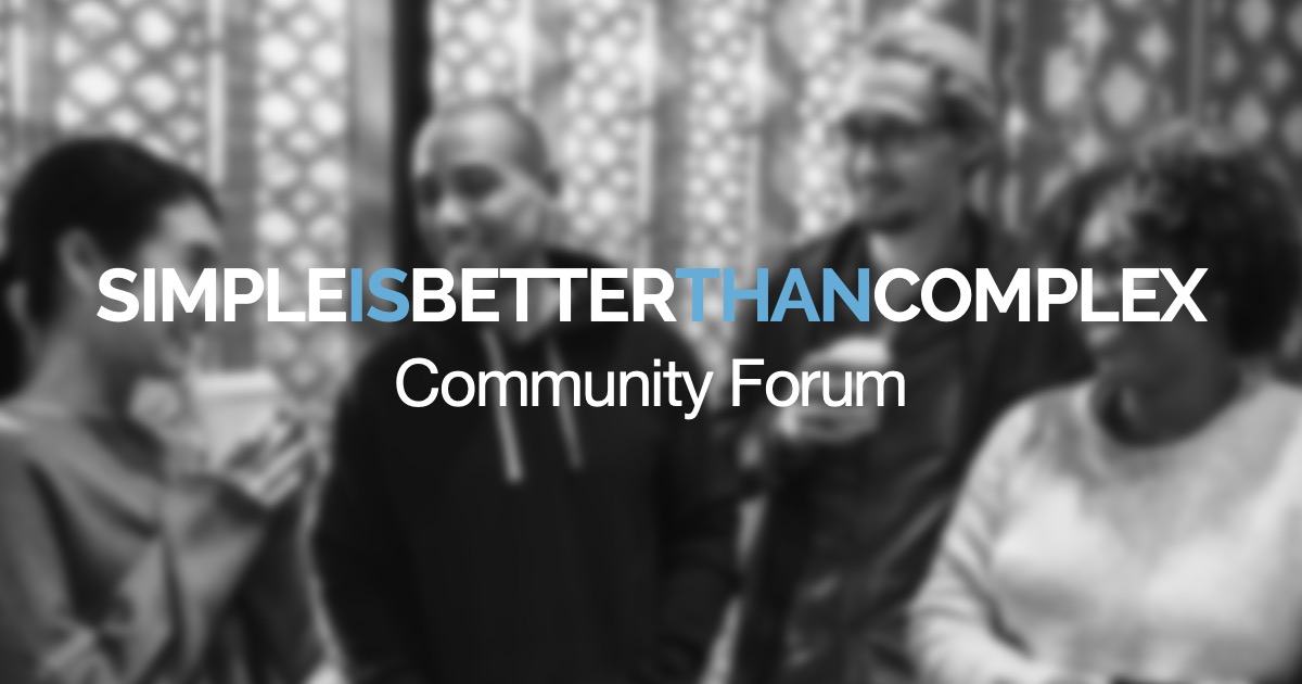 Launching our Community Forum