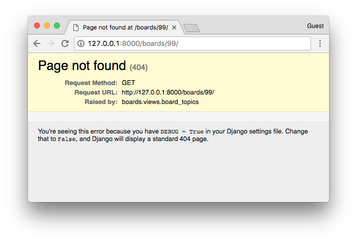 Topics Error 404 Page